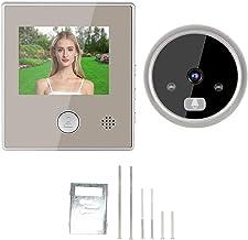 Campainha de vídeo, câmera com campainha de vídeo HD infravermelho noturno, apartamento em villa com porta da frente para ...