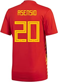 adidas ASENSIO #20 Spain Home Men's Soccer Jersey World Cup Russia 2018