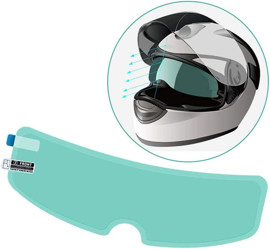 isilky Helmet discount Visor Film Time sale Motorcycle Lens Waterproof