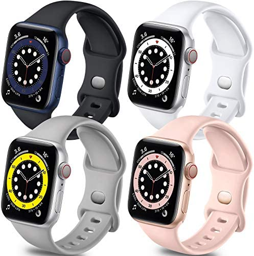 Getino Band Compatible with Apple Watch 40mm 38mm iWatch SE Series 6 5 4 3 2 1 Stylish Breathable product image