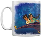 Disney MG25501 - Tazza in ceramica, 315 ml, motivo: Aladdin Le Film