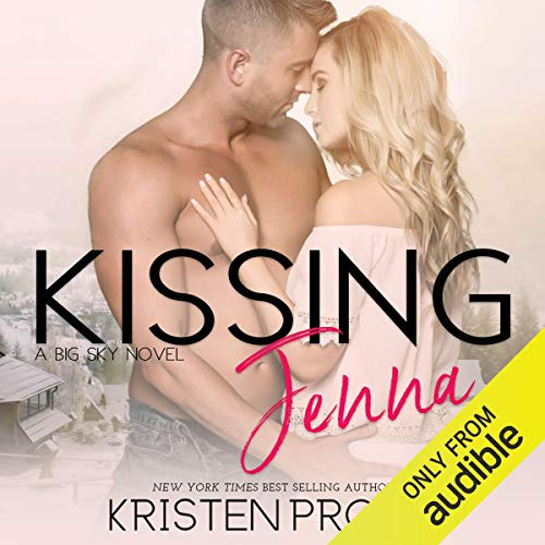 Kissing Jenna audiobook cover art