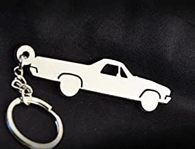 MGC Collection Custom Stainless Steel Keychain for Chevy El Camino Enthusiasts