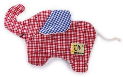 35205 - Olli Olbot - Mini-Wärmekissen Elefant rot