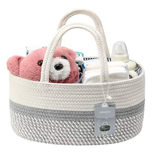 MTOUOCK Baby Diaper Caddy Organizer