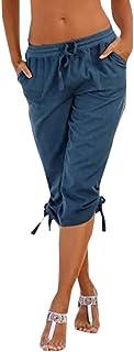 Men Pencil Pants Casual Baggy Pants Drawstring Cotton Loose Harem Pants by Hunzed