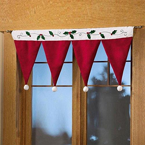 HENGSONG Tür Fenster Dekorativ Home Dekoration Weihnachten Vorhang Deko