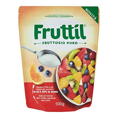 FRUTTIL PUOCH DOLCIF 500 GR FRUTTOSIO PURO CRISTALLINO