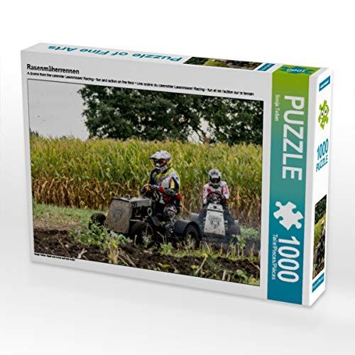 CALVENDO Puzzle Rasenmäherrennen 1000 Teile Lege-Größe 64 x 48 cm Foto-Puzzle Bild von Sonja Teßen