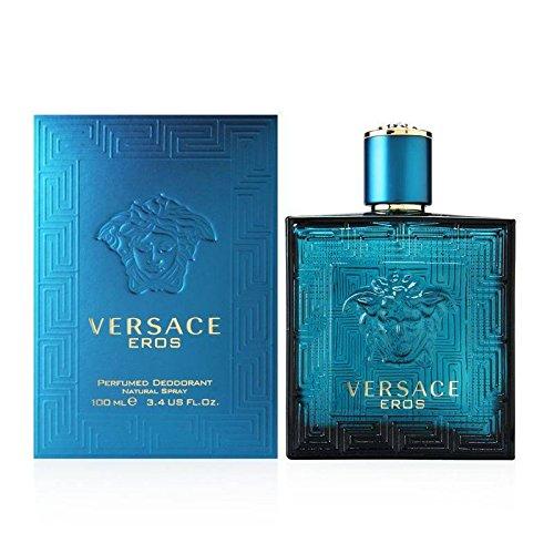 Eros di Versace, Deodorante Uomo - Spray 100 ml.