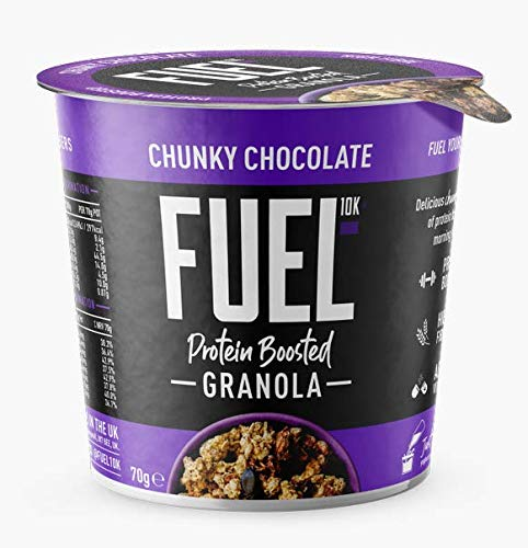 FUEL10K - Chunky Chocolate Granola Pot - High Protein - 8x70g