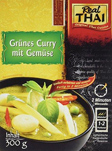 Real Thai Grünes Curry mit Gemüse (1 x 300 g)