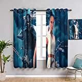 Elliot Dorothy Star Wars The Rise of Skywalker - Cortinas aisladas con aislamiento térmico (63 x 63 cm)