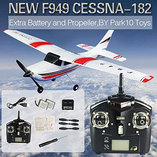New F949 3Ch RC Airplane Fixed...