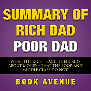 Summary of Rich Dad Poor Dad cover art