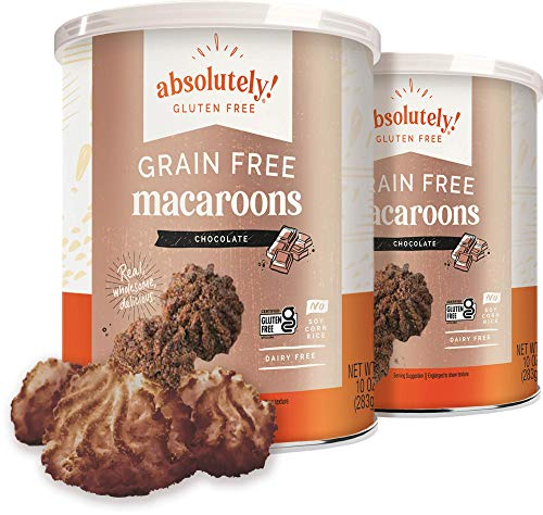 Absolutely Gluten Free Coconut Macaroons, 10oz (Chocolate, 2 Pack)