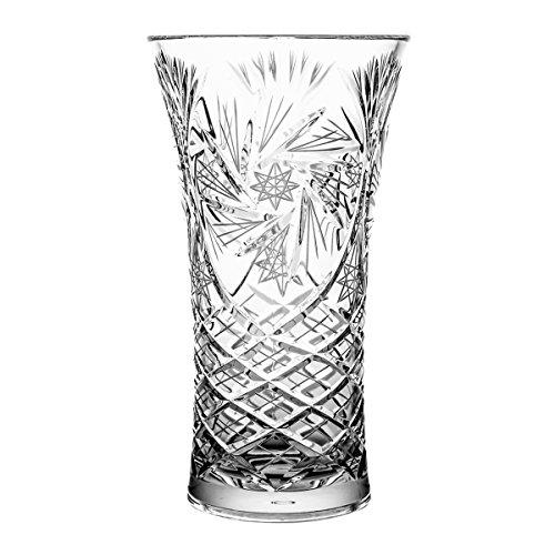 Crystaljulia vaas, kristal, 25 cm, 14 x 14 x 25 cm