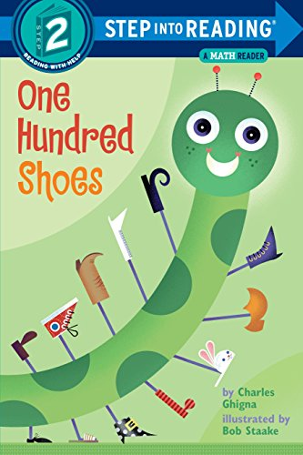 One Hundred Shoes: A Math Reader (Step-Into-Reading, Step 2)