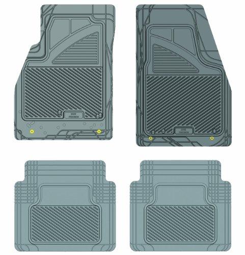 Koolatron Pants Saver Custom Fit 4 Piece All Weather Car Mat for Select Buick LaCrosse Models (Grey)