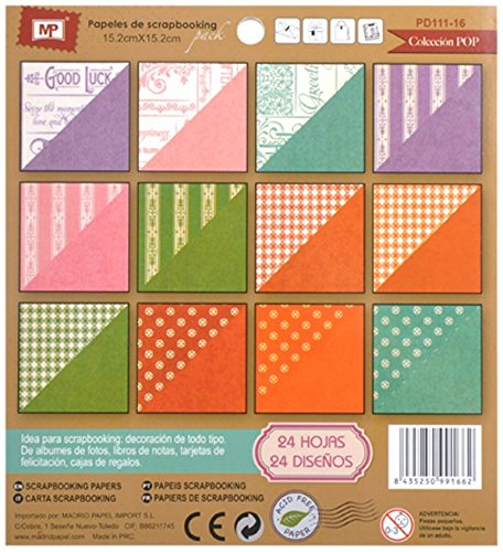 MP PD111-16 - Block de scrapbooking doble cara