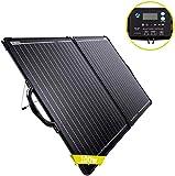 ACOPOWER Powereco 100W Mono Lightweight Portable Solar Panel Kit 2PCS 50W Solar Suitcase, Waterproof...