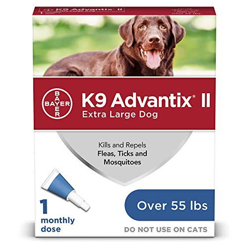 K9 advantix II Flea and Tick Prevention for Extra-Large Dogs, Over 55 Pounds, blue (86145928)