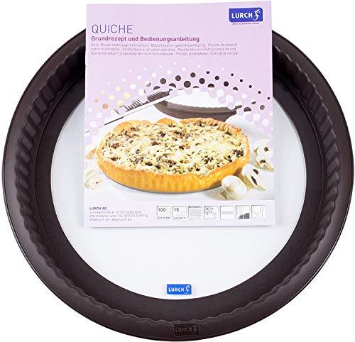 Lurch 85009 Moule à Tarte Flexiform 26cm Marron, Silicone, 20 x 15 x 10 cm