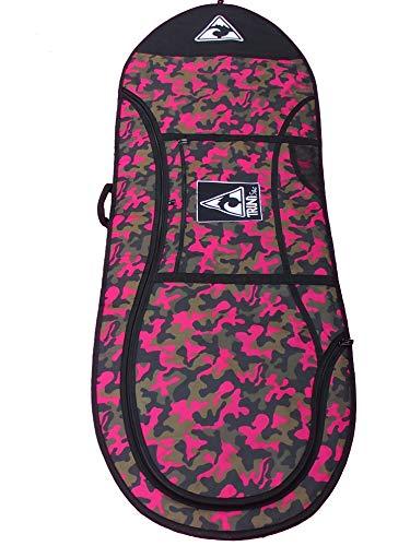 Trinity Boardsport T57W Funda Tabla Windsurf, Adultos Unisex, Pink Camouflage, 8'2-9'2