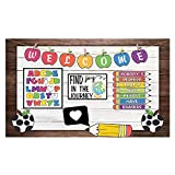 Funnytree Online Teaching Course Backdrop Photography Background Teacher Classroom Decorations Student Back to School Party Children Banner Photobooth Studio Props Mini Session 5x3ft