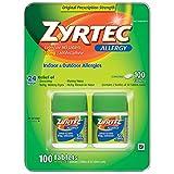 Zyrtec Cetrizine HCl/Antihistamine - 10mg/100...