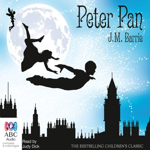 Peter Pan                   By:                                                                                                                                 J. M. Barrie                               Narrated by:                                                                                                                                 Judy Dick                      Length: 5 hrs and 56 mins     3 ratings     Overall 2.7