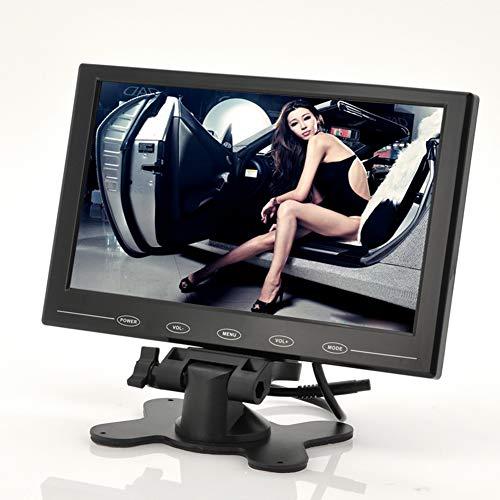 BEESCLOVER 22,9 cm TFT LCD Monitor – in-Car appuie-tête/Stand Design Ultra Fin 800 x 480 Résolution Noir