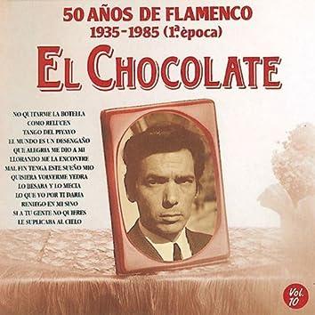 50 Años de Flamenco, Vol. 10:  1935-1985 (1ª Epoca)