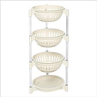 OPNIGHDYMD 4 Tier Fruit Basket Rack, Cuisine Moderne comptoir de Stockage présentoir, des Fruits, Produire, armoires de Cu...