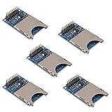 Organizer 5pcs SD Card Module Slot Socket Reader for Arduino ARM Mcu SD Card Module Slot Socket Reader and Write