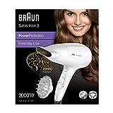 Braun HD385 Satin Hair 3 PowerPerfection Asciugacapelli con Tecnologia a Ioni