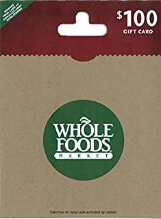 whole foods gift certificate