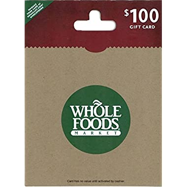 Whole Foods Market $100 Gift Card