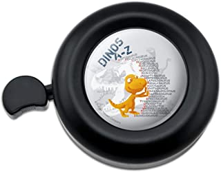GRAPHICS & MORE Dinosaurs from A to Z Stacked Names Dinosaur Train Bicycle Handlebar Bike Bell