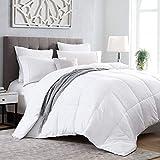 Kingsley trend White Down Alternative Comforter - King (104 x 92) Duvet Insert All-Season Soft Comforter, Machine Washable