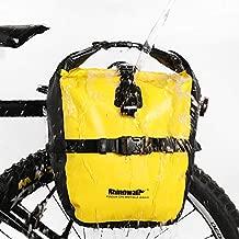 Rhinowalk Bike Bag Waterproof Bike Pannier Bag Bike Rear Rack Bag Mountain Bike Accessories 20L Yellow