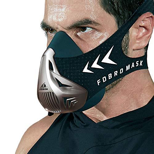 FDBOY mask Black Silver L>100KG(5256CM)