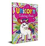 101 Unicorn Colouring Book: Fun Activity Colouring Book For Children