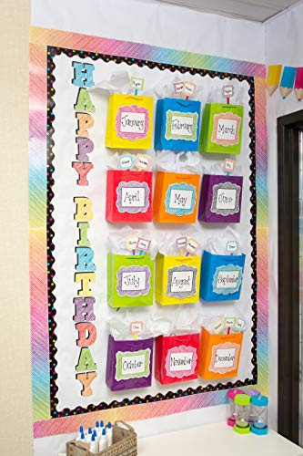 """Teacher Created Resources 2686 Scribble Bold Block 4"""" Letters Combo Pack Photo #4"""
