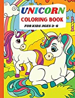 Unicorn Coloring Book: For Kids Ages 3-6