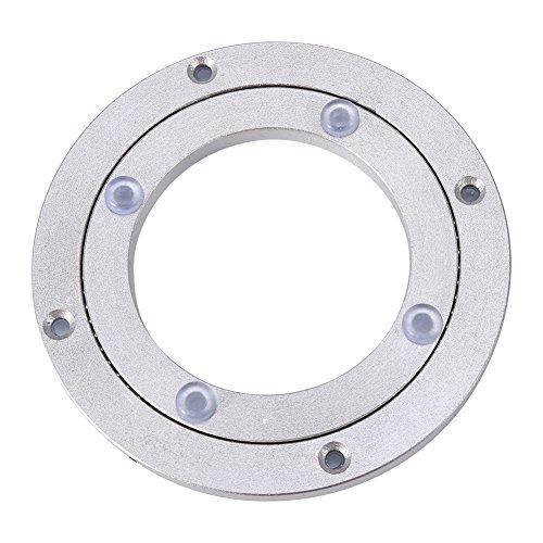 Plataforma giratoria de aleación de aluminio resistente para mesa de comedor redonda 4寸*H8.5MM