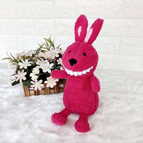 N-B Juguete de peluche creativo Sonrisa de diente grande muñeca de la boda Grab Machine niño comodidad muñeca