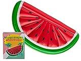 OOTB - Colchón de Aire con Forma de Sandía Hinchable, Verde/Rojo/Blanco, tamaño Único