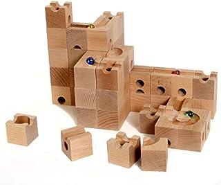 HUIZorbit スタンダード 54個 ビー玉積み木転がし 28個鋼製ビー玉付き[並行輸入品]