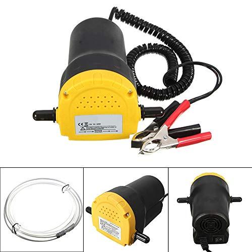 MorNon 12V Pompe Éléctrique À Vidange Extraction Moto de Voiture de Siphon de Pompe de Transfert D'huile Dd'extracteur de Fluide Électrique